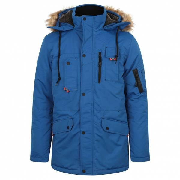 Tokyo Laundry Nicklas Hommes Parka Veste d'hiver 1J11337R Olympian Blue