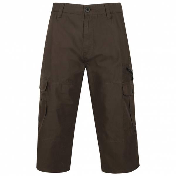 Pantalon 3/4 court pour homme DNM Dissident Sandino 1G10643 Noir Olive