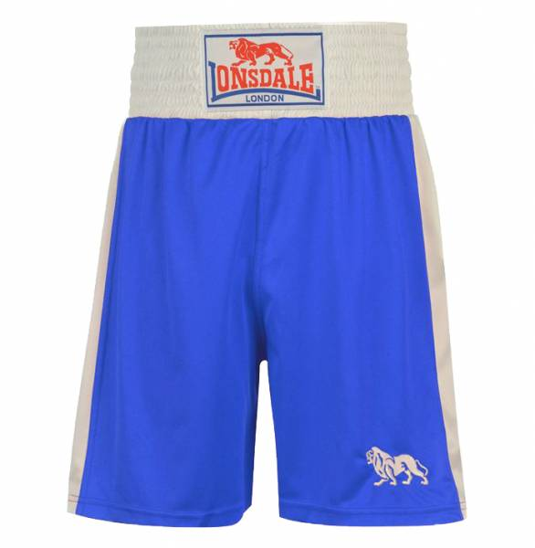 Pantalon Boxer Boxer Lonsdale London pour Homme Court Bleu