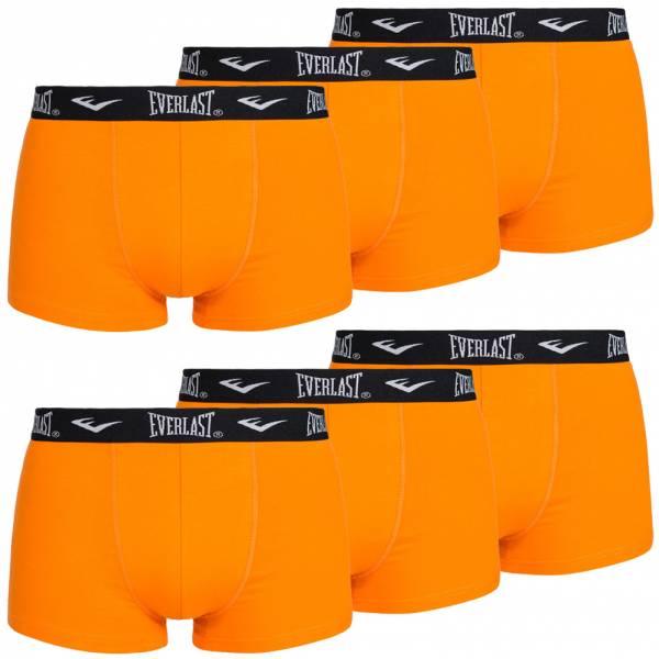 Everlast Lot de 6 boxers pour homme orange EV32347