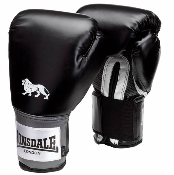 Gants de boxe Lonsdale Pro Training noirs